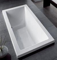 Charming Acrylic Drop In Bathtub