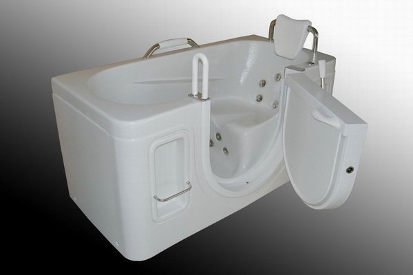 Walk In Bathtub For Seniors Handicap Elderly Safe Step
