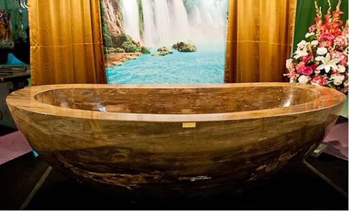 Stone Bathtub Large Beautiful