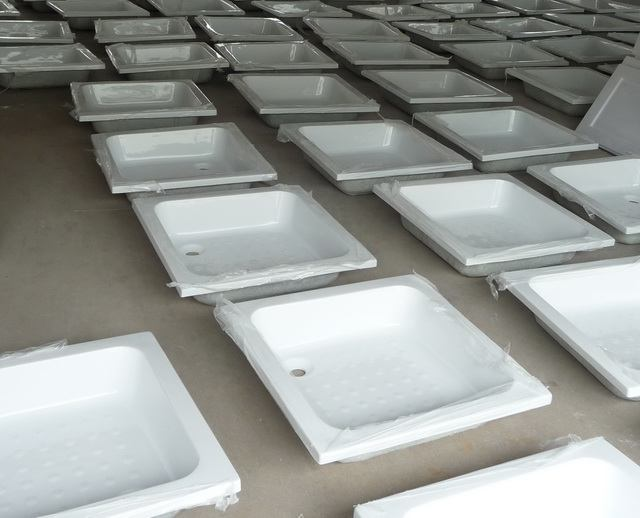 acrylic shower base