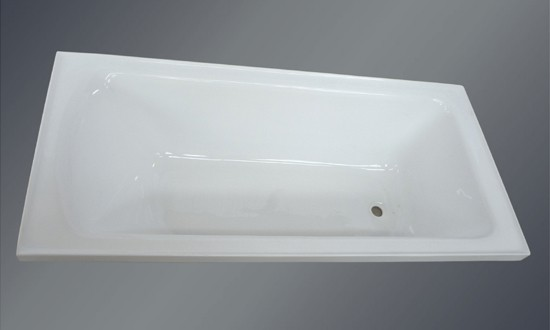 Australian Inset Bath With Tile Bead