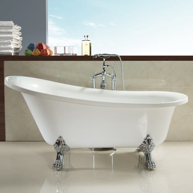 Clawfoot Tub Bathroom Design Ideas ~ Choose clawfoot tub for modern bathroom designs