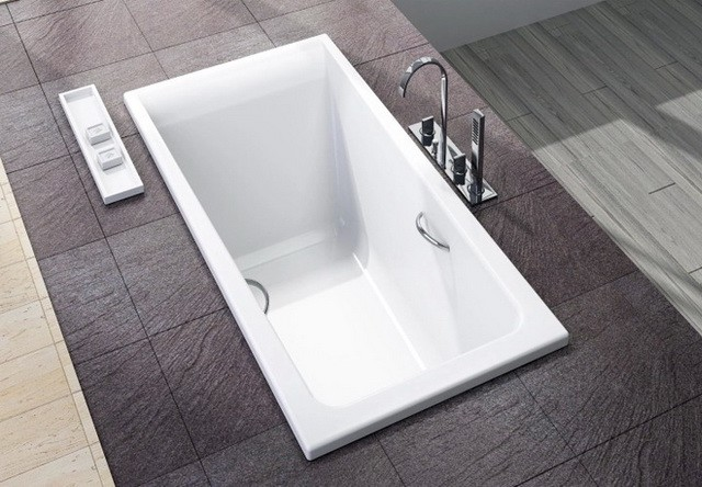 Drop in tub an economical tub to take a relaxing bath for Drop in tub vs freestanding
