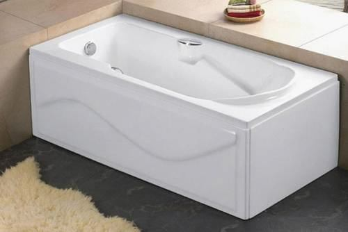 Rectangular Apron Bathtub