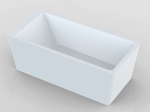 66 inch freestanding tub for Steel bath vs acrylic
