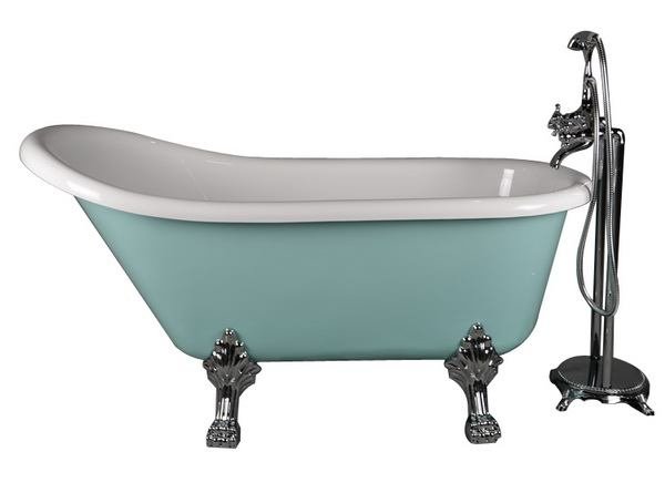 Clawfoot tub dimensions sizes standard for Standard bathtub size in feet