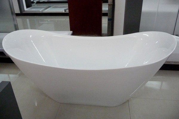 Take a dip with your loved one in the double slipper for Drop in tub vs freestanding