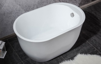 smallest freestanding bath