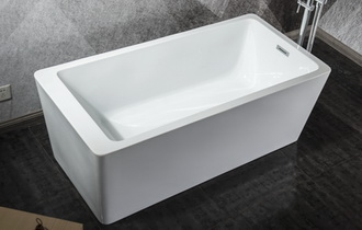 66 inch freestanding tub