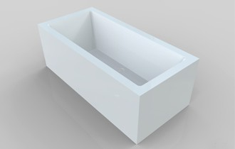 58 inch freestanding tub