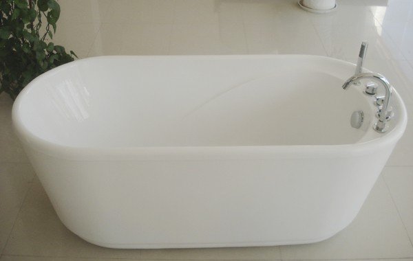 freestanding soaking tub for two. freestanding soaking tub one side view  arrow 2 55 inch acrylic free standing 1400mm