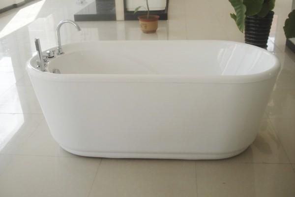 freestanding tub with faucet holes. freestanding tub another side view 55 inch acrylic free standing soaking  1400mm