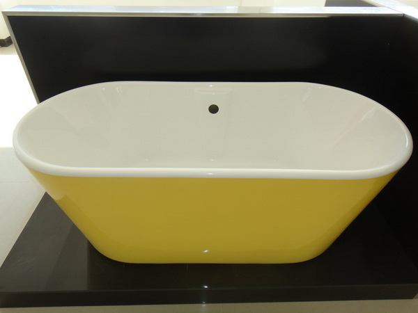 1600 Freestanding Bath, 1600mm Freestanding Baths In Yellow