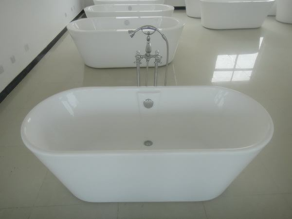 White 1600 freestanding bath, 1600mm freestanding baths with faucet