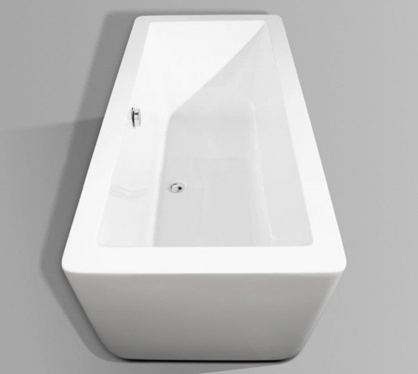 67 inch acrylic free standing soaking tub 1700mm for Drop in tub vs freestanding