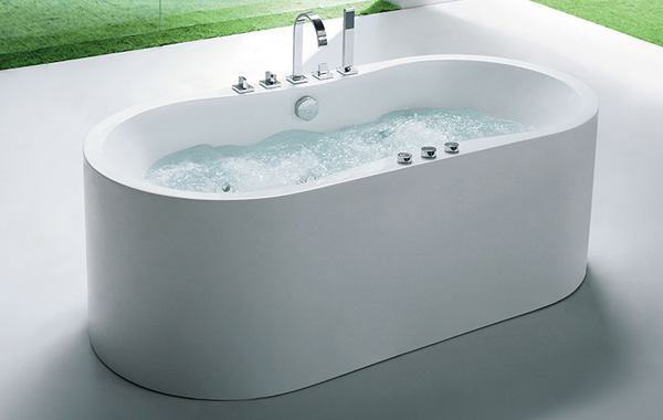 Freestanding Tub Deck Mount Faucet Home Design Plan