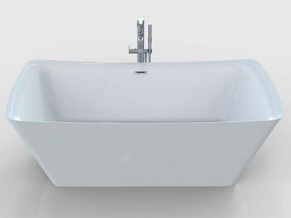 Rectangular Freestanding Soaking Tub
