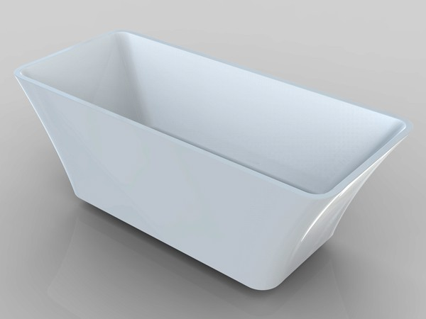 Small freestanding bath 1400 mm for Small baths 1400