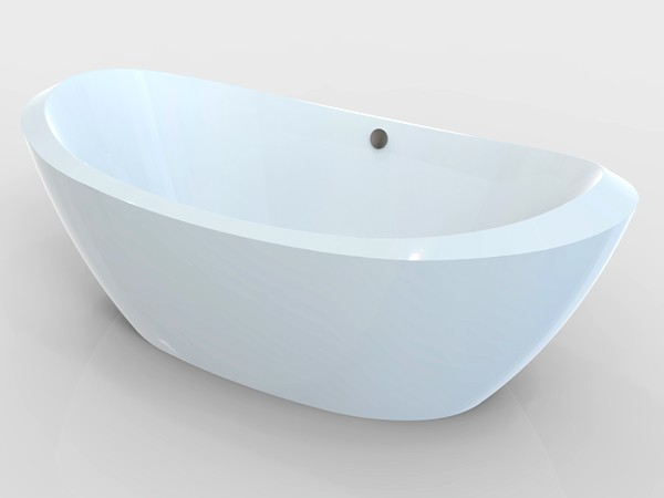 wide freestanding tub