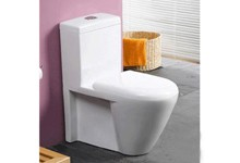 siphonic one piece toilet