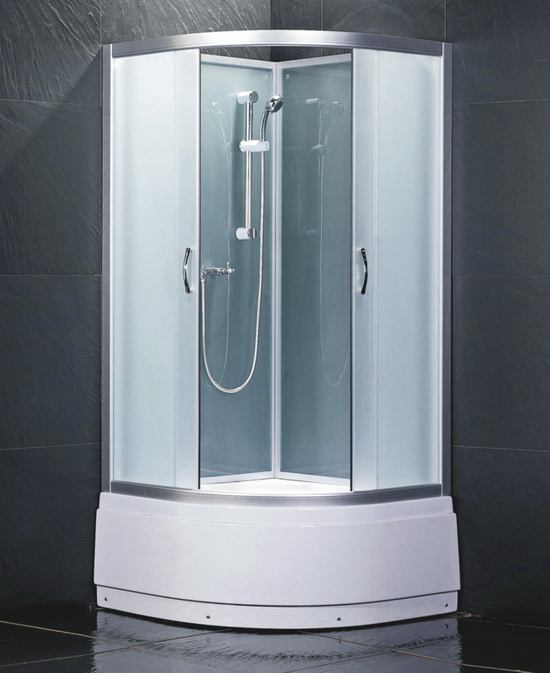 Glass Shower Tub Combo