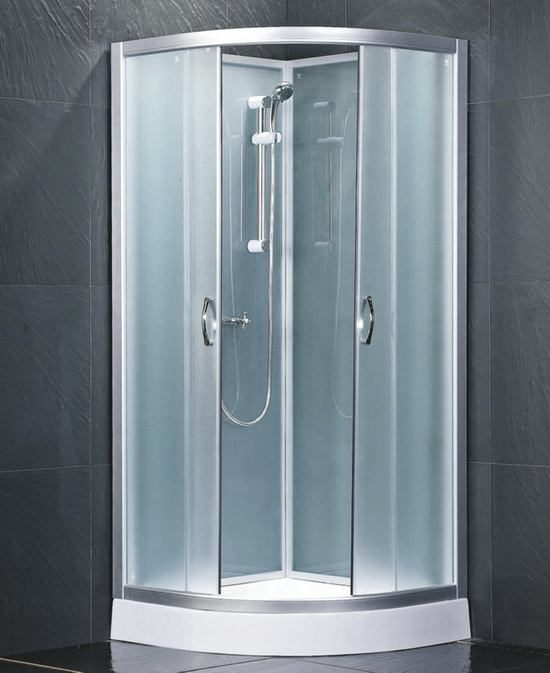 Model shower gg 6022 free standing shower stall