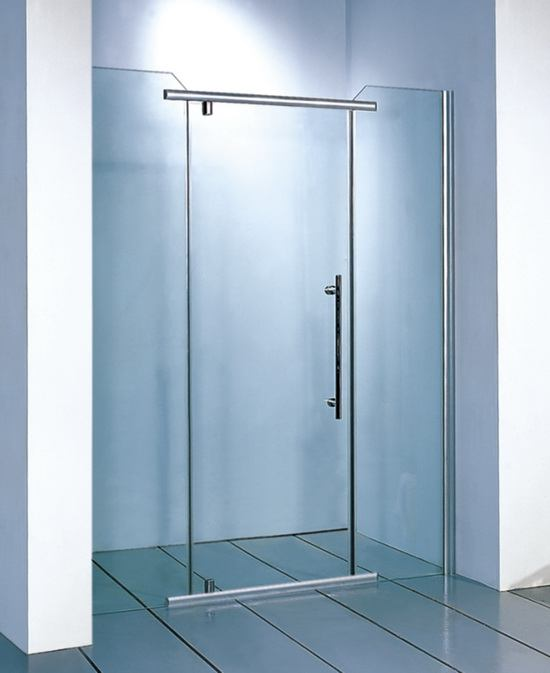 Clear glass shower doors tempered glass shower doors for 1800mm high shower door