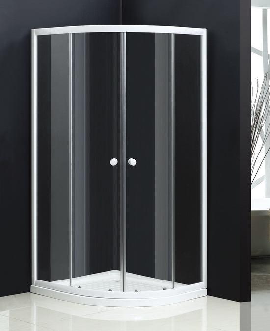 White Quadrant Shower Enclosures 1000mm