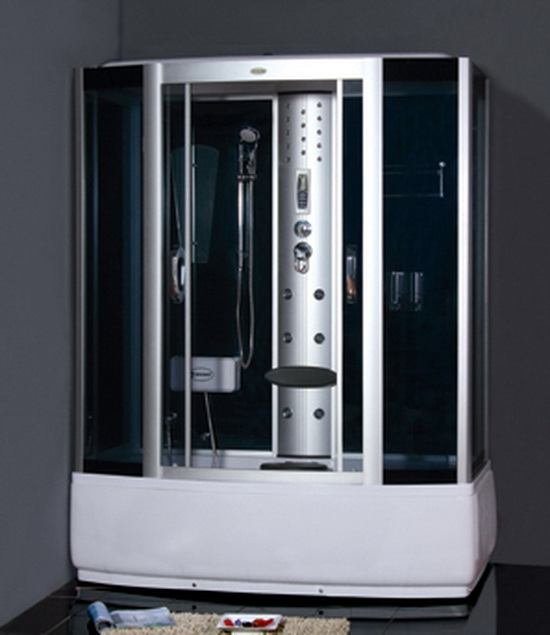 67 Inch Steam Shower W Whirlpool Bathtub Combo Unit 1700 Mm