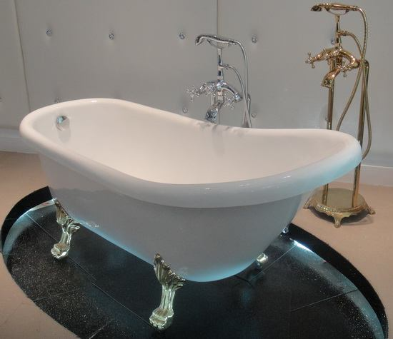 Clawfoot Bath Soft 62 5 Inch 1590 Mm