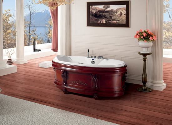 Stand Alone Soft Tub 68 5 Inch 1740 Mm