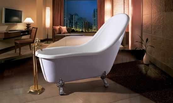 Clawfoot soft bath tub 73 inch 1850 mm - Soft tube whirlpool ...