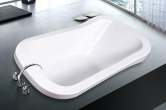 Oval Soaker Soft Tub 71 Inch 1790 Mm