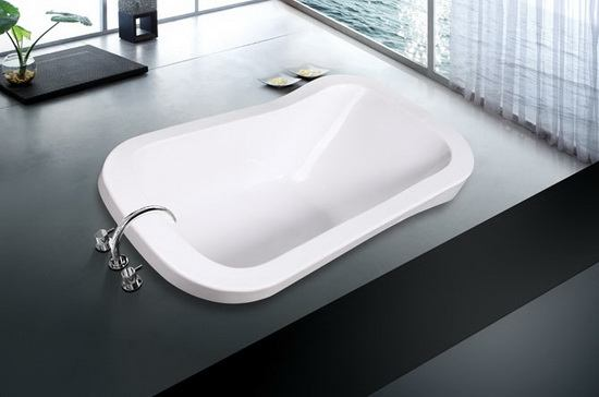 Extra Deep Soft Bathtub 67 Inch 1700 Mm