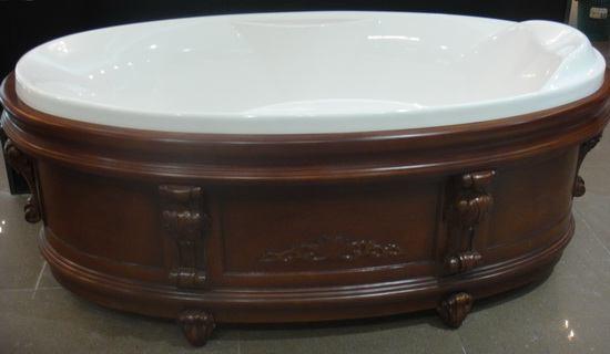 Stand Alone Soft Tub 68 5 Inch 1740 Mm